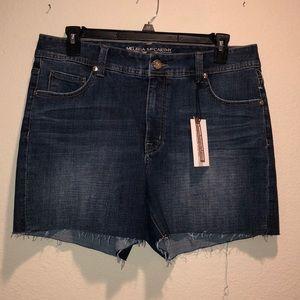 Melissa McCarthy Seven7 Denim Skirt Sz 16
